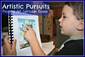 artistic pursuits preschool art curriculum review