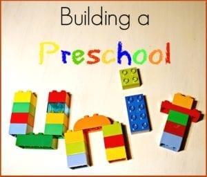 Building a preschool unit study