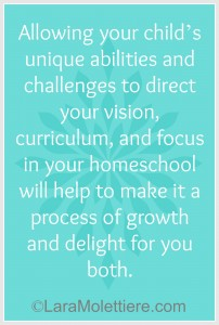 Homeschooling a child with special needs home educating family
