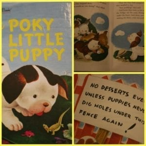 poky puppy collage