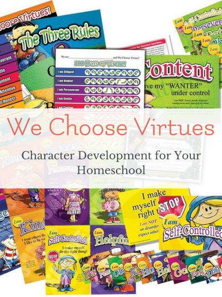 homeschool character development training