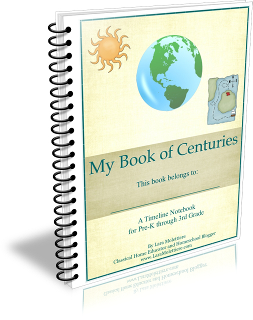 My Book of Centuries: A Timeline Notebook for PreK-3rd Grade