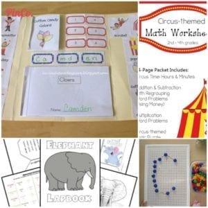 pinterest circus unit study ideas