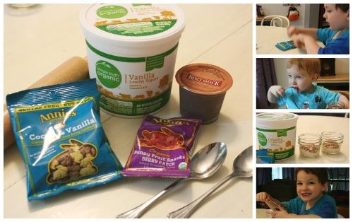 gluten free dirt cups recipe collage