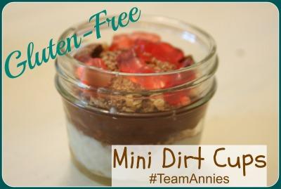 glutenfree dirt cups recipe annies homegrown