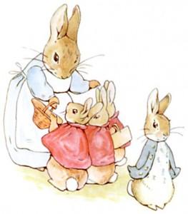 Peter Rabbit Beatrix Potter Birthday