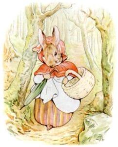 Mrs. Rabbit Beatrix Potter Birthday