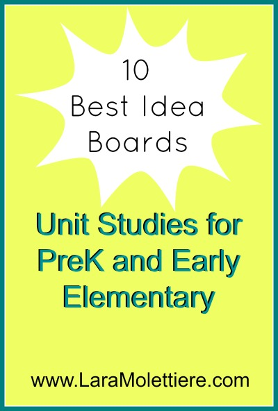 top pinterest boards for unit studies for peek and early elementary