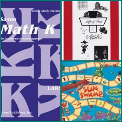 Math Classical Kindergarten Collage