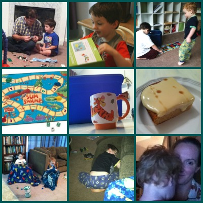back to homeschool collage friday august