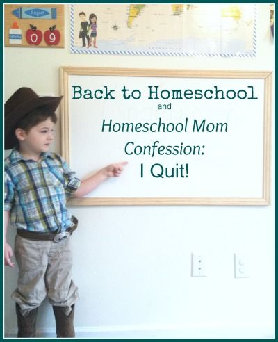 collage friday homeschool mom confession