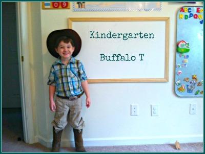 first day of homeschool kindergarten pics