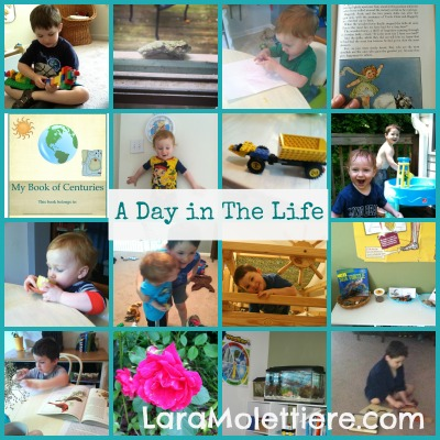 not back to school day in the life homeschool hop