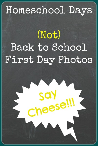 not back to school hop homeschool first day photos
