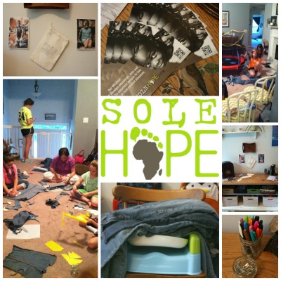 Sole Hope shoe party service opportunity