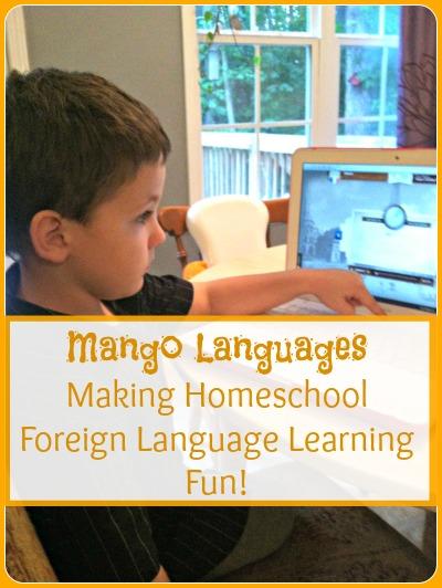 homeschool foreign language learning fun