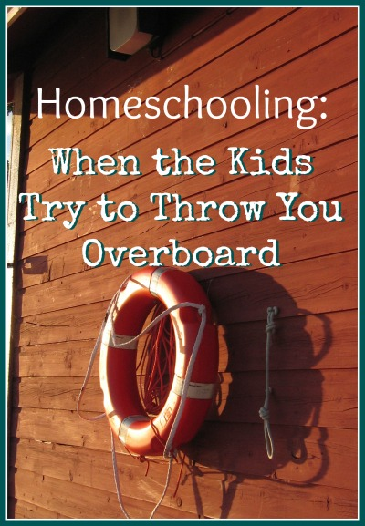 homeschool when kids don't cooperate