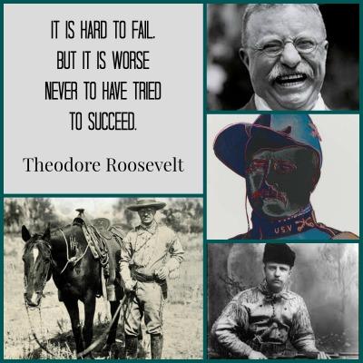 Theodore Roosevelt birthday collage