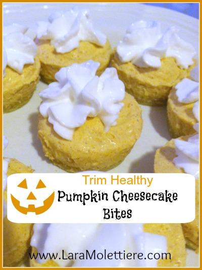 trim healthy pumpkin cheesecake bites recipe