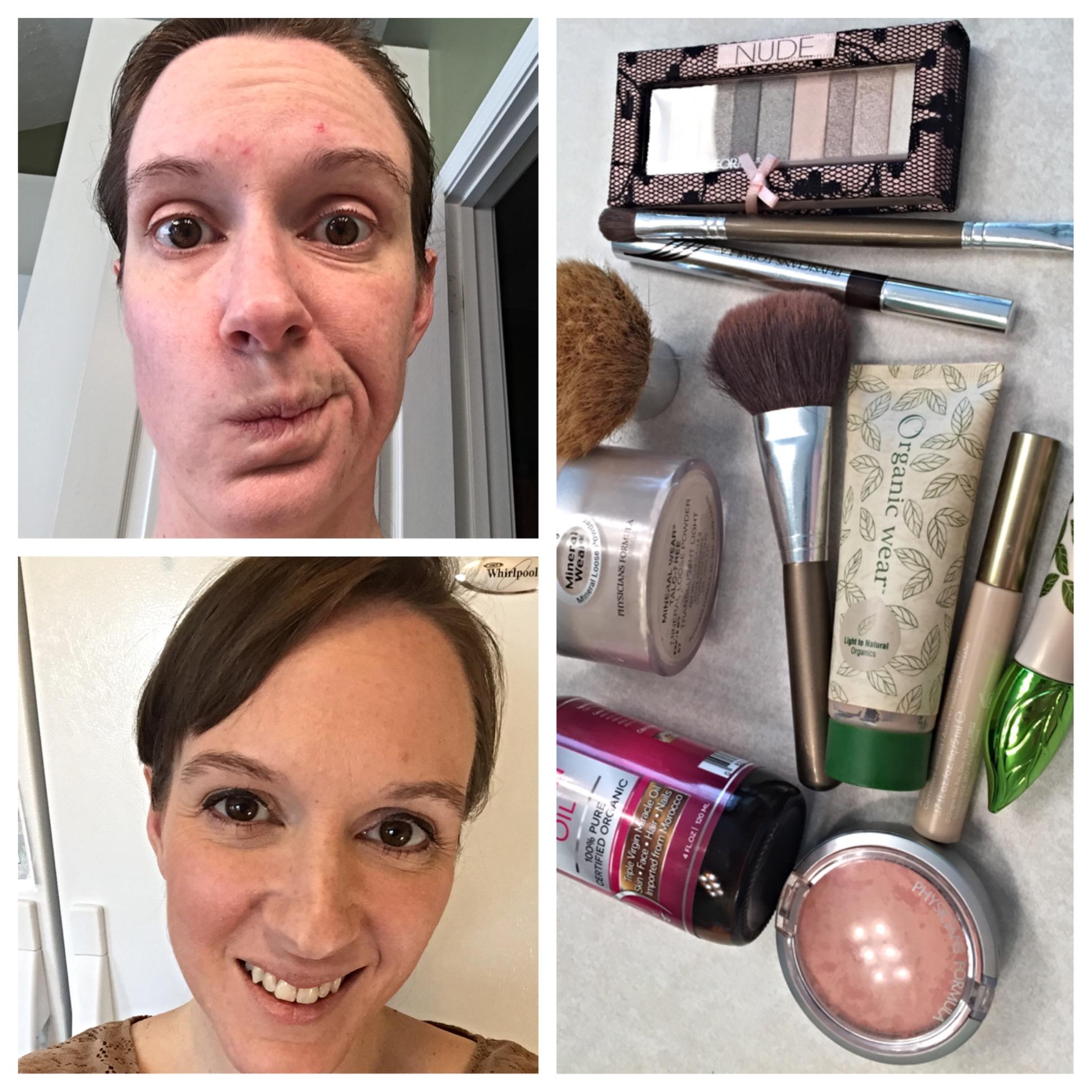 4 minute makeup
