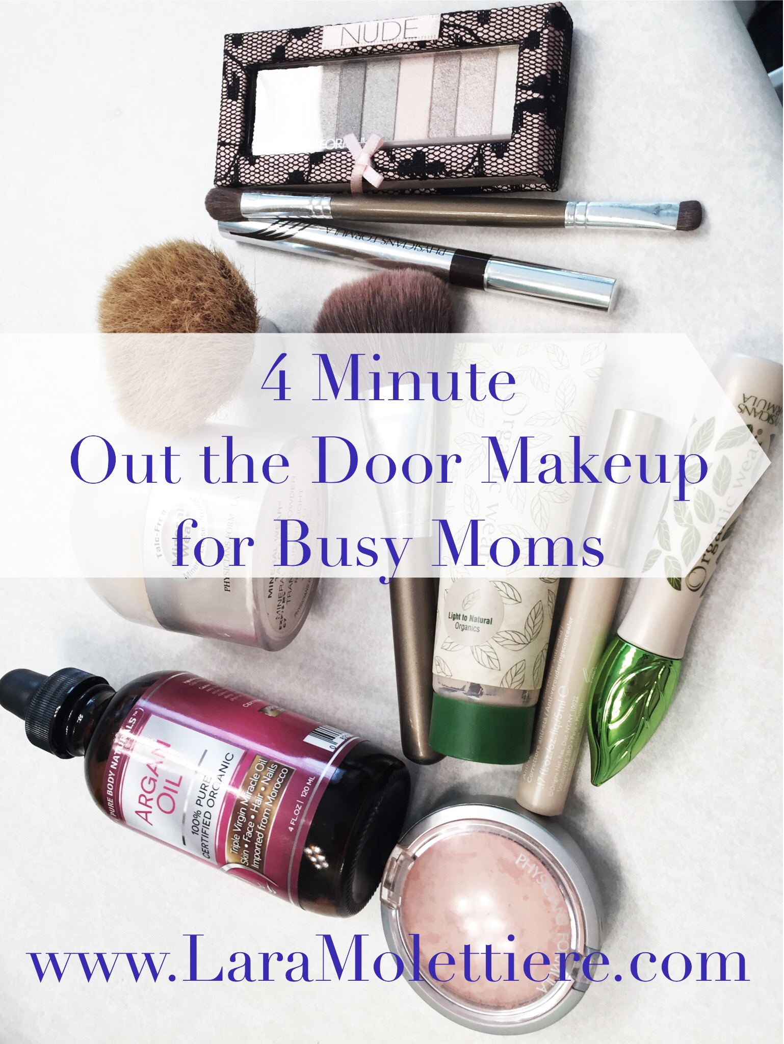 easy makeup routine for busy moms