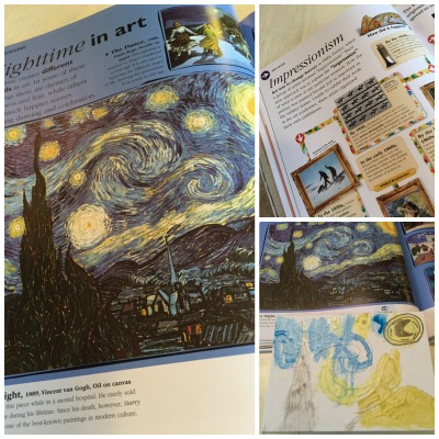 art elementary DK book