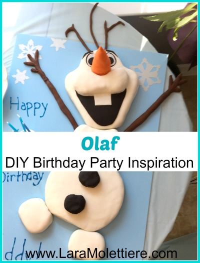 diy olaf birthday party