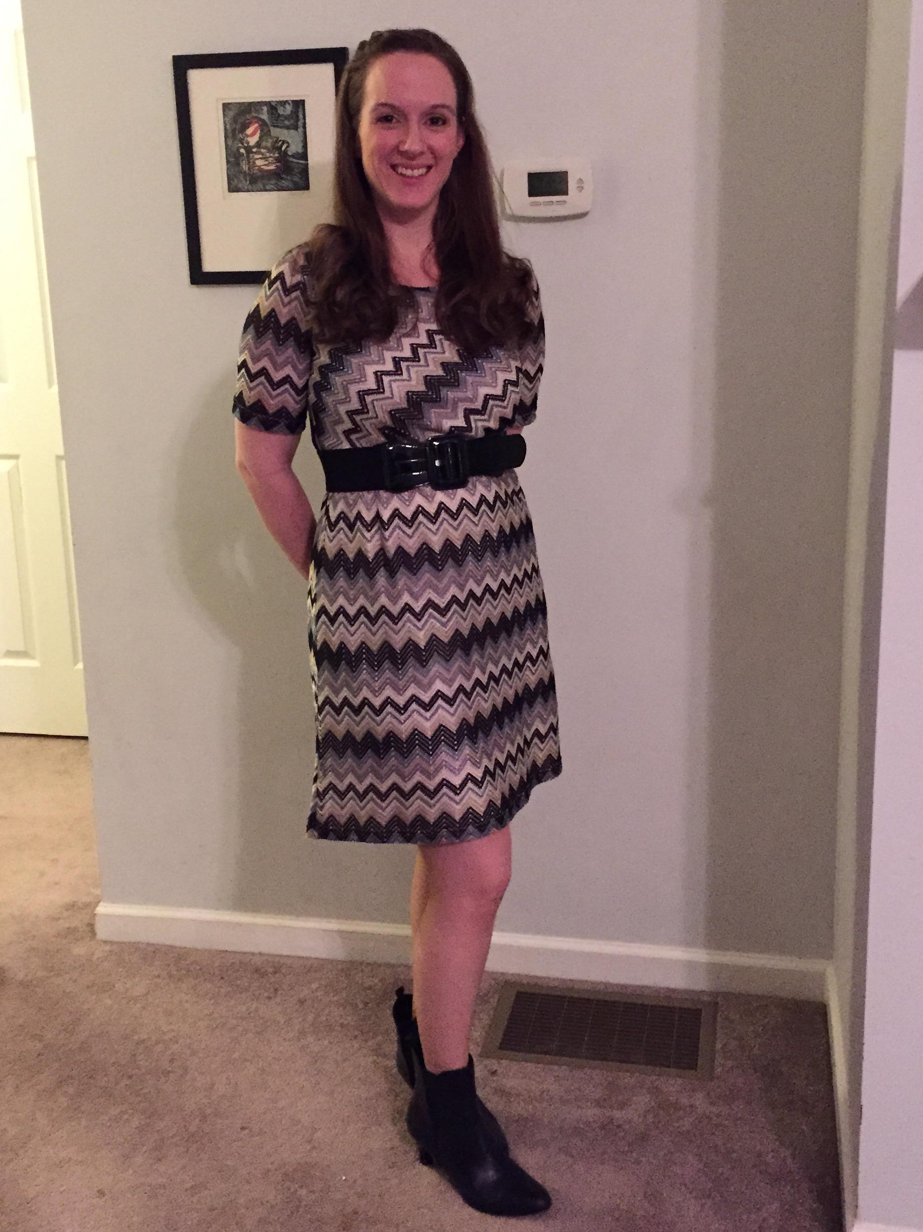 Pixley Wendi Chevron Knit Dress Stitch Fix tips and review