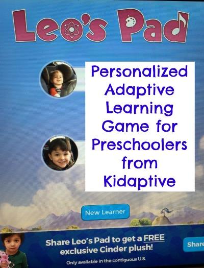 Leos Pad Preschool Enrichment App