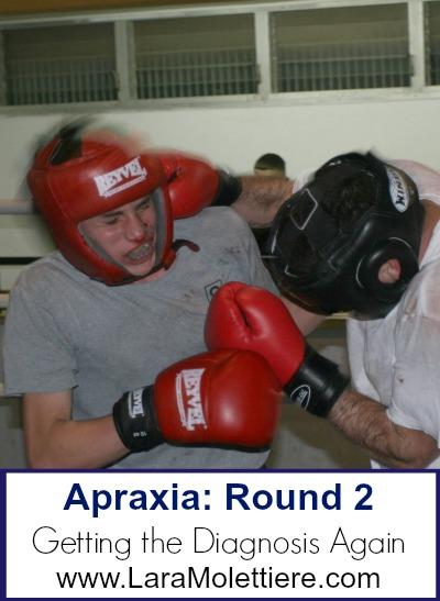 apraxia of speech diagnosis
