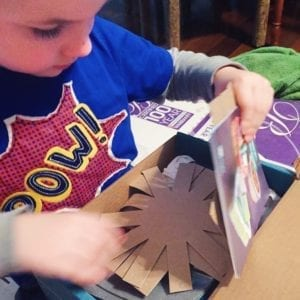 doodle crate for arts and crafts homeschool