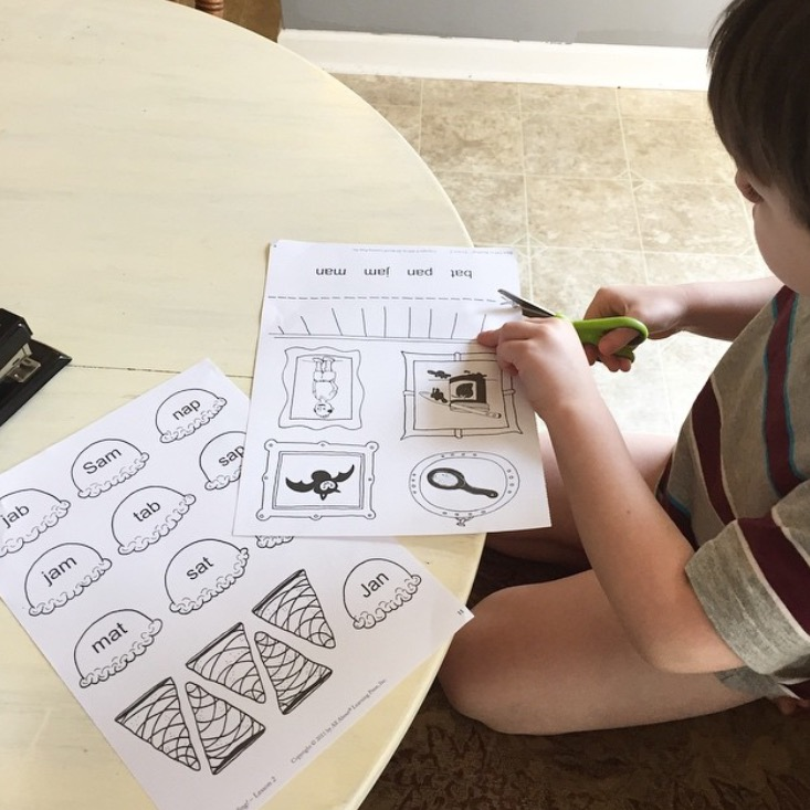 usng all about reading for a sensory learner with dyslexia