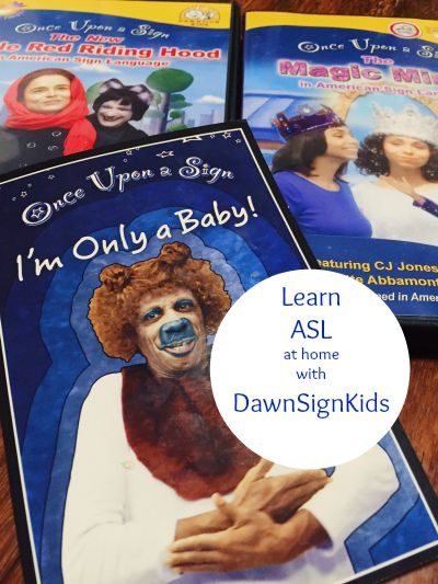 once upon a sign ASL stories for children