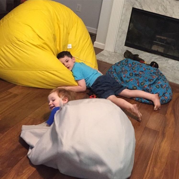 bean bag chairs for sensory kids