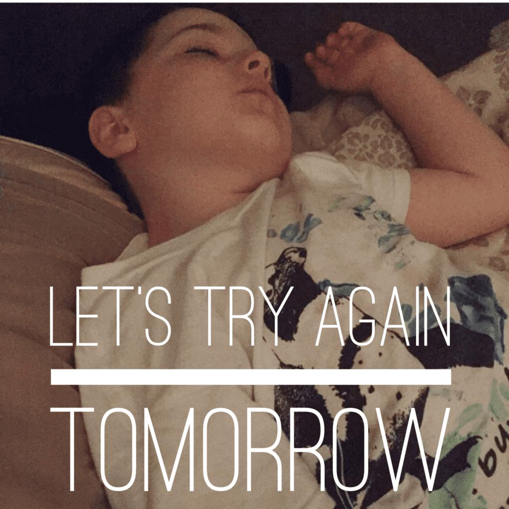 the hard days of motherhood