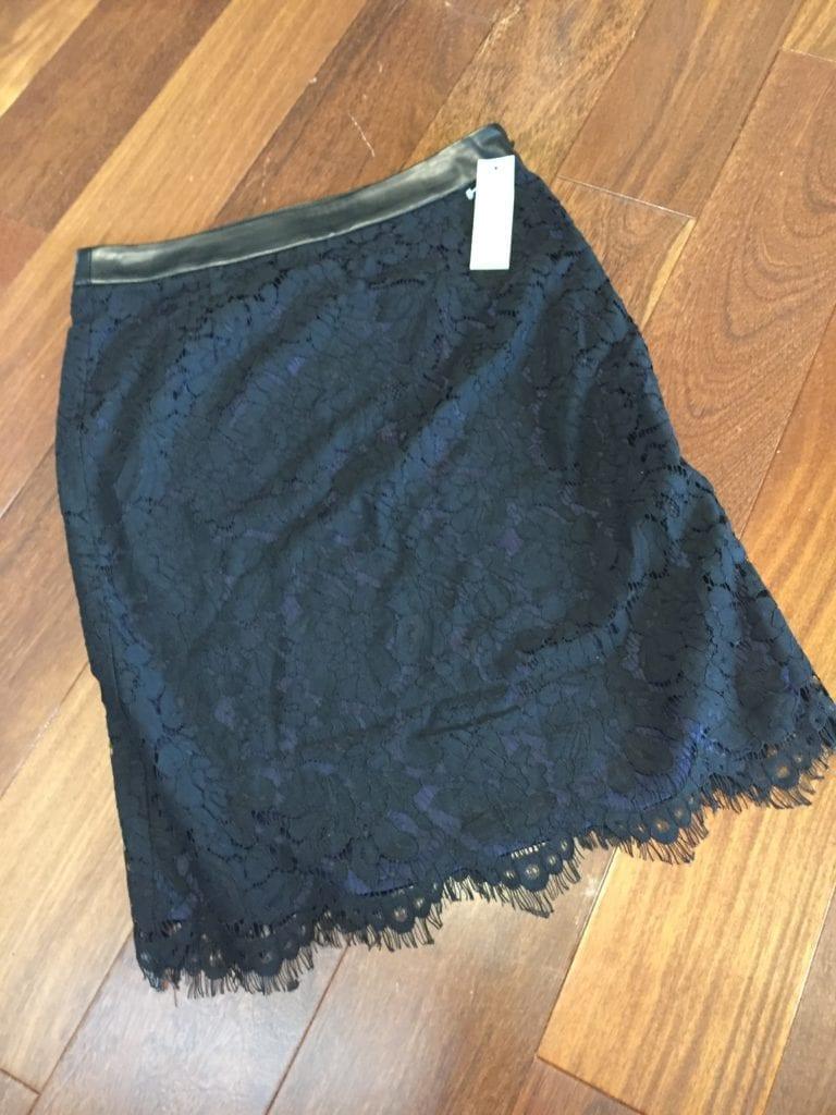 Brixon Ivy Cyndi Lace Pencil Skirt