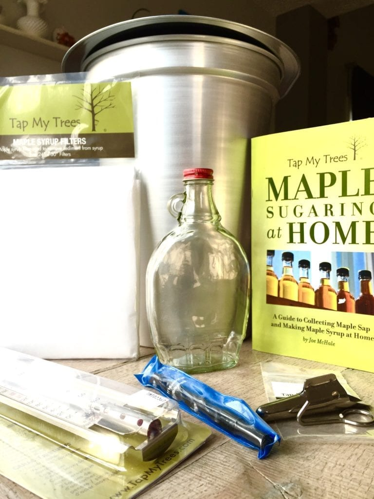 Tap my trees teacher sugaring kit