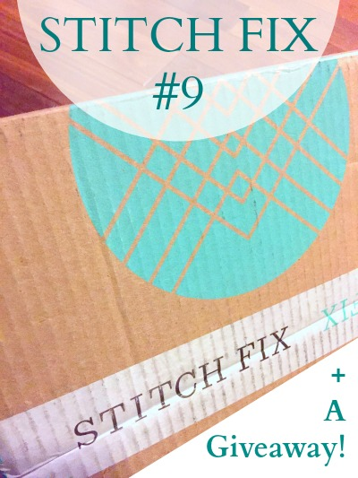 stitch fix number 9 giveaway