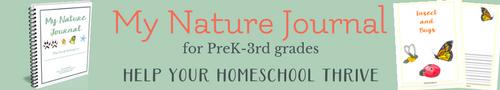 charlotte mason nature journal primary