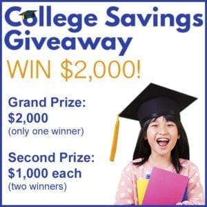 College Savings Contest Square