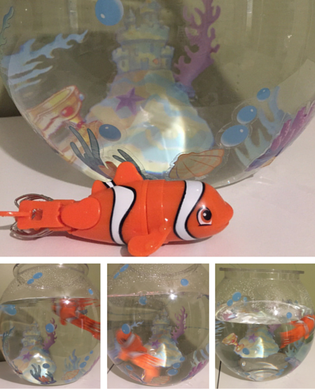 Lil Fishys water toys for inside