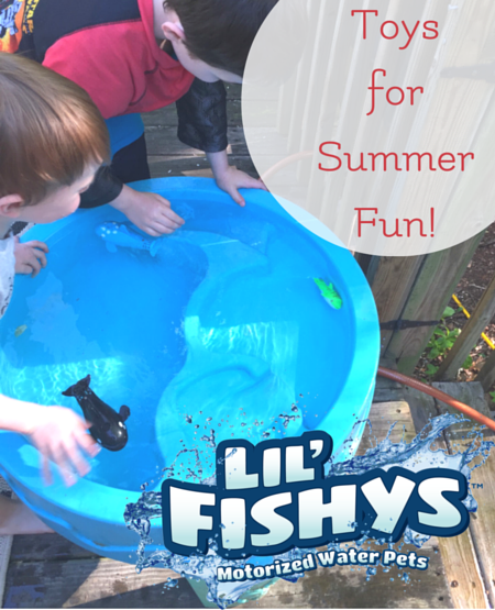 Lil Fishys water toys for summer fun