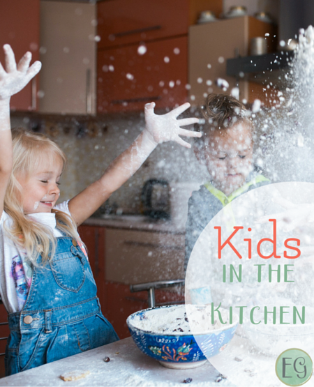 Kids in the kitchen at Everyday Graces