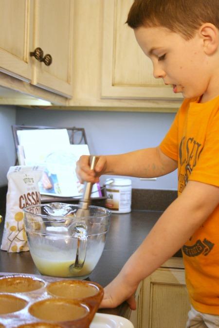 gluten free pancake bites