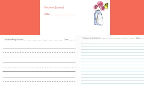 charlotte mason printable homeschool planner