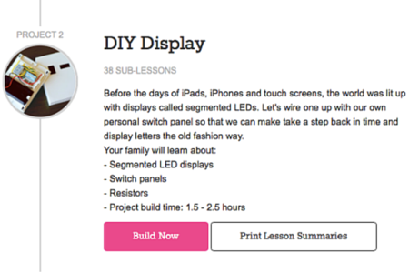 diy digital display with eeme