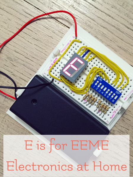 eeme electronics projects for home, homeschool, and kids who love to experiment and learn.