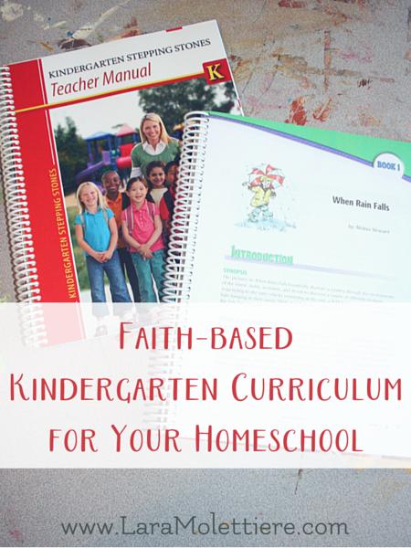 faith based kindergarten curriculum