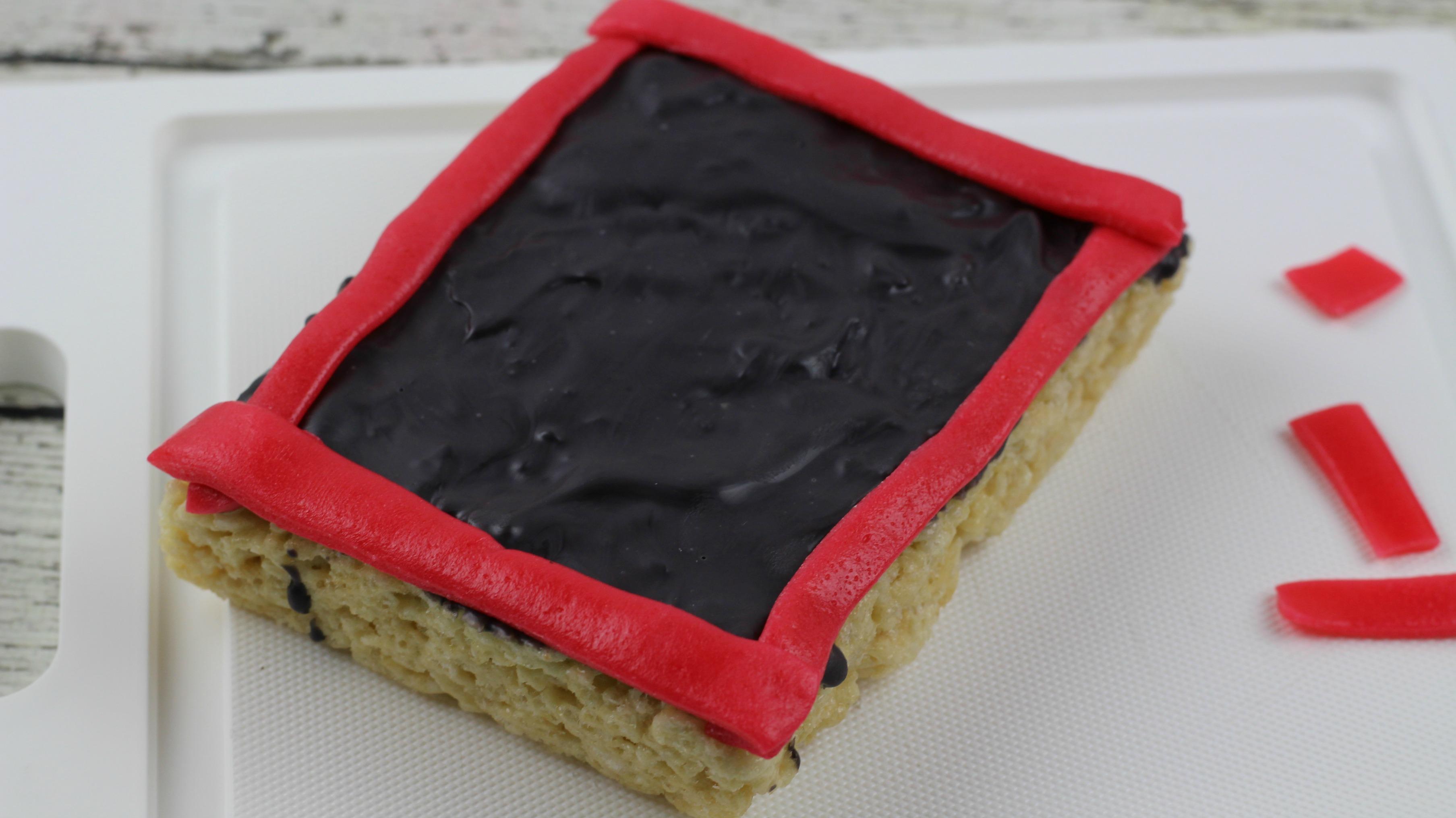 chalkboard rice krispy treats