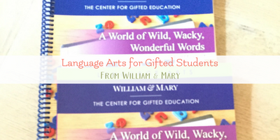 Elementary Language Arts: A World of Wild, Wacky, Wonderful Words